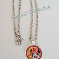 Mooie  Minnie Mouse ketting