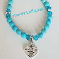 Armband Frosted Turquoise